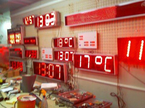 Электронные светодиодные табло